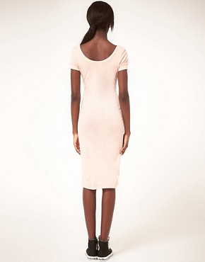 Image 2 ofAmerican Apparel Jersey Midi Dress