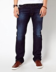 Diesel - Safado 74W - Jeans dritti lavaggio medio