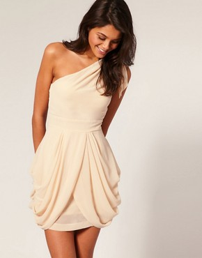 Image 1 ofTFNC One Shoulder Dress