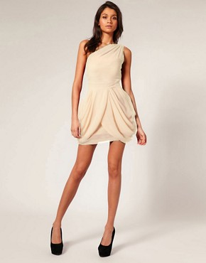 Image 4 ofTFNC One Shoulder Dress