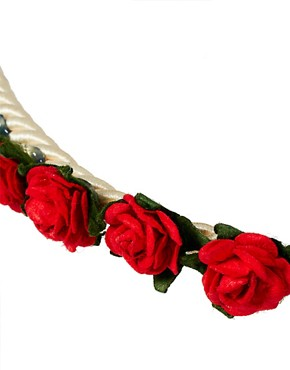Image 3 ofJohnny Loves Rosie Rose Bud Garland Headband