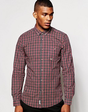 Threadbare Small Logo Check Shirt