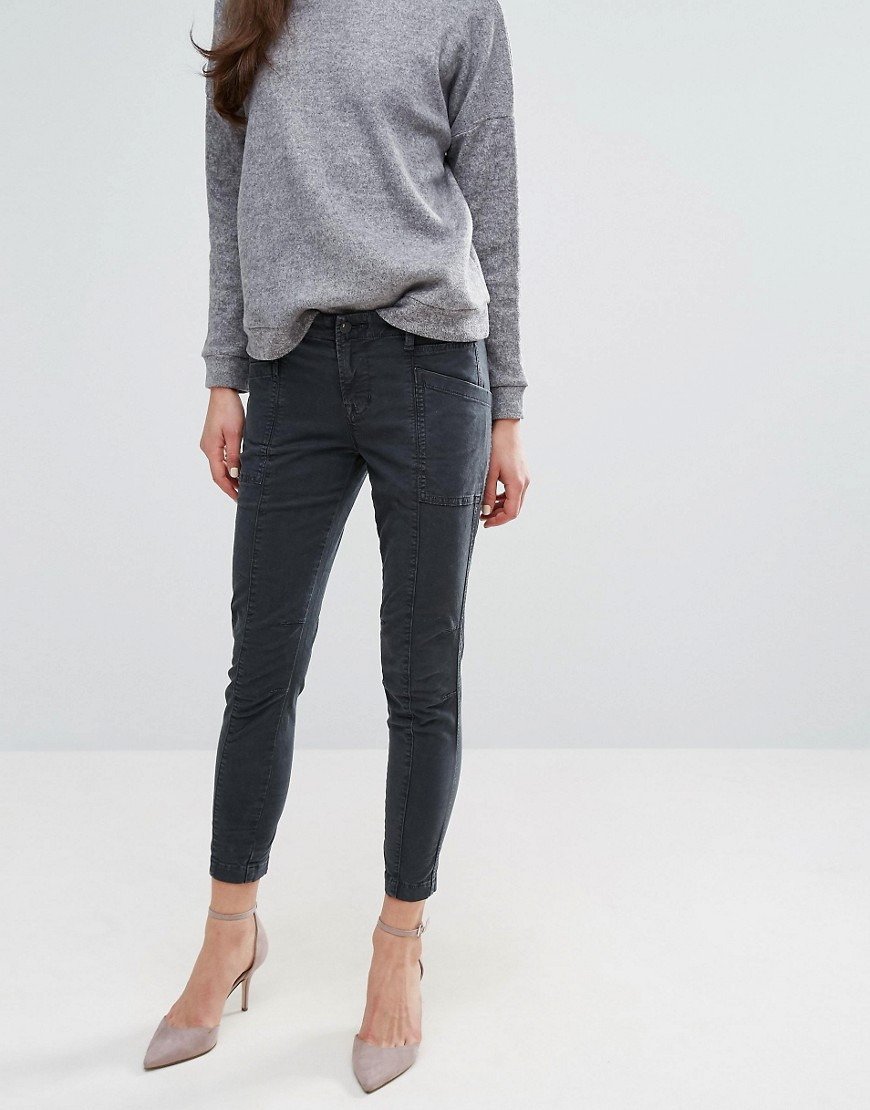 Product photo of J brand byrnes mid skinny chinos chrome