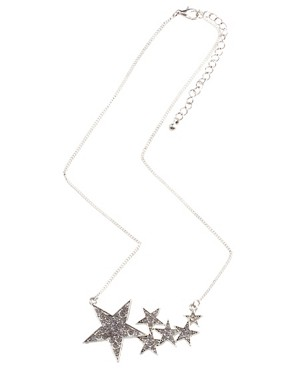 Image 2 ofASOS Shooting Stars Short Pendant