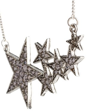 Image 4 ofASOS Shooting Stars Short Pendant