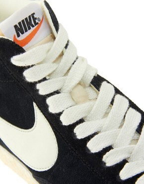 Image 4 ofNike Blazer High Vintage Black Trainers