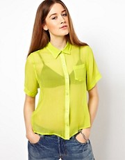 Equipment Silk Talitha Shirt With Pocket Detail