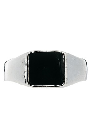 Image 2 ofASOS Signet Ring Pack