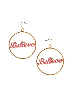 Image 1 ofDisney Couture Believe Earrings