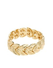 ASOS Linked Leaf Bracelet