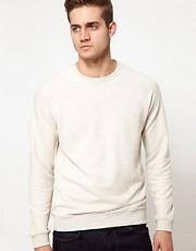 ASOS Sweatshirt With Raglan Sleeves