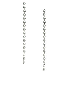 Image 1 ofLimited Edition Ball Chain Drop Earrings