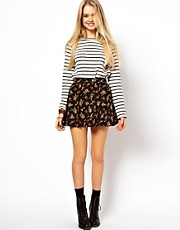 ASOS Skater Skirt in Ditsy Floral Print