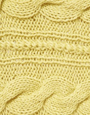 Image 2 ofASOS Wool Mix Cable Funnel Snood