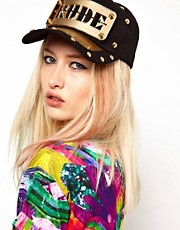 Funky Bling Rude Snapback Cap