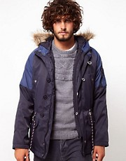 ASOS Parka With Zip Out Gilet
