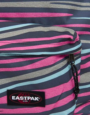 Image 2 ofEastpak Animal Print Authentic Backpak