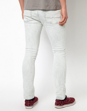 Image 2 ofASOS Washed Super Skinny Jeans