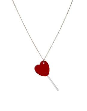 Image 1 ofTatty Devine Lollipop Necklace