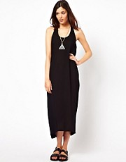 Just Female Twist Back Maxi Dress