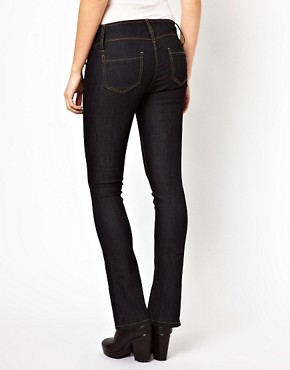 Image 2 ofASOS Maternity Lennox Jeans With Stretch Waistband
