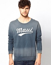 Scotch &amp; Soda Sweatshirt With Maui Print