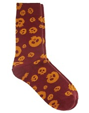 Humor Skull Socks