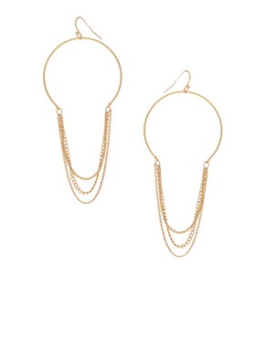 Image 1 ofPieces Larissa Hopp Chain Drop Earrings
