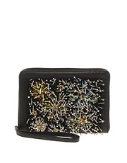 ASOS Clutch Bag With Firework Beading