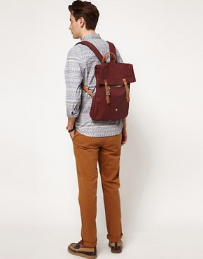 Image 3 ofBen Sherman Plectrum Canvas Backpack