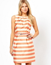 Oasis Stripe Latern Dress