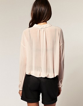 Image 2 ofASOS Shirt with Slouchy Pockets