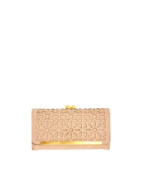 Image 1 ofASOS Frame &amp; Ball Purse With Cut Away Detail