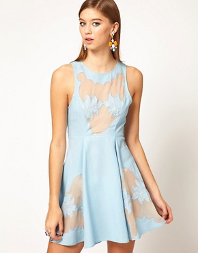 Image 1 of Alice McCall Western Insert Ice Skating Dress