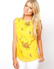 Oasis Pretty Floral Shell Top