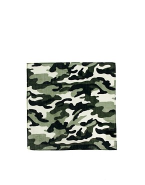 Image 2 ofASOS Camo Pocket Square