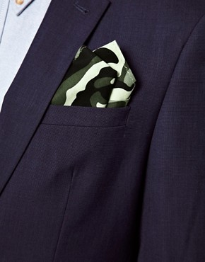 Image 3 ofASOS Camo Pocket Square