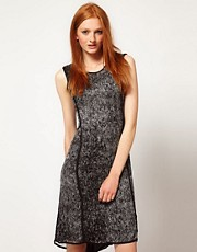 ADAM By Adam Lippes Printed Sleeveless Dress