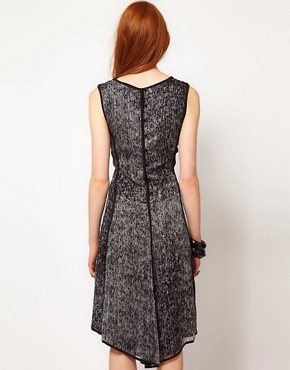 Image 2 ofADAM By Adam Lippes Printed Sleeveless Dress