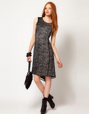Image 4 ofADAM By Adam Lippes Printed Sleeveless Dress