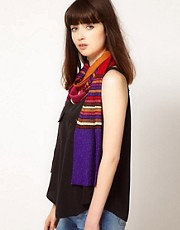 M Missoni Lurex Stripe Scarf