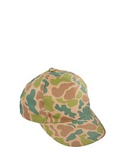 ASOS Baseball Cap in Camo Fabric