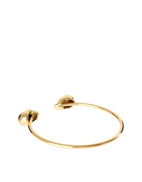 Image 2 ofASOS Skull Bangle