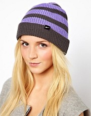Nike Slouchy Stripe Beanie Hat