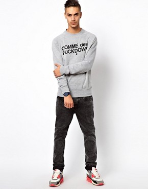 Image 4 ofComme Des F Down Sweatshirt