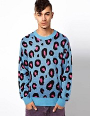 Joyrich Wildlife Jumper In Leopard Print