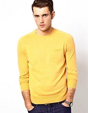 Ben Sherman Sweater with Crew Neck and Pocket