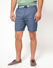 ASOS Chino Shorts With Belt