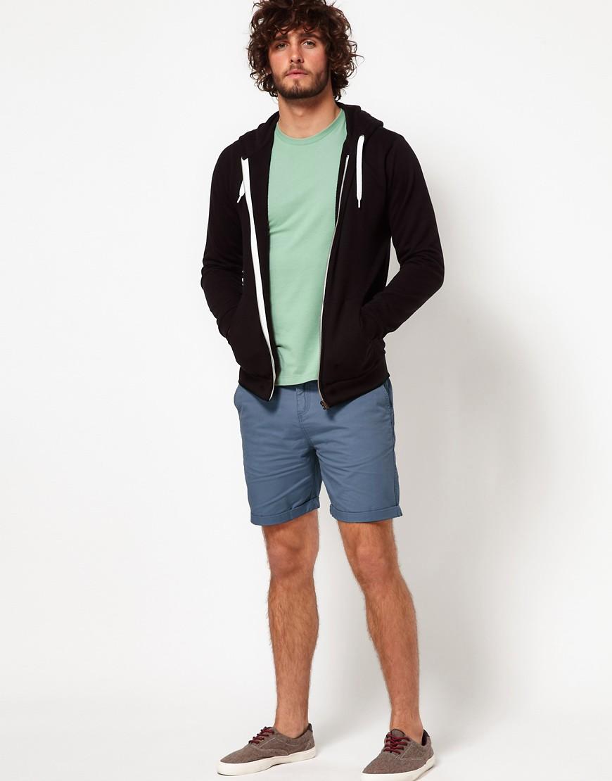 Image 4 ofASOS Chino Shorts With Belt