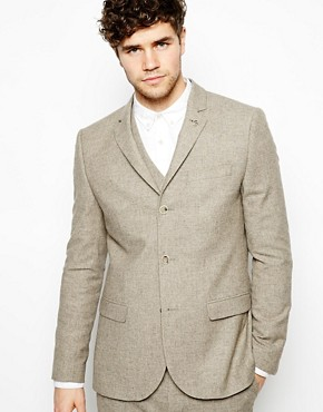River Island Suit Jacket In Slim Fit